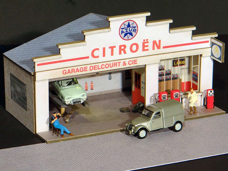 Fa ade petit garage citro n r gions compagnies for Garage citroen ivry sur seine