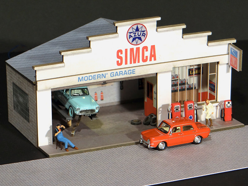 Fa ade petit garage simca r gions compagnies for Le garage des petits