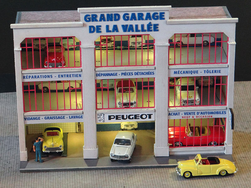 Fa ade grand garage peugeot r gions compagnies for Garage ideal auto lanester