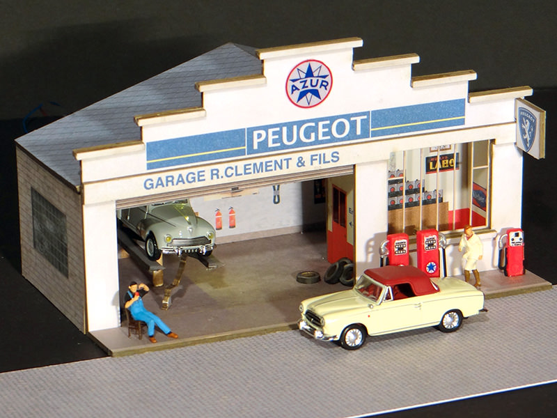 Fa ade petit garage peugeot r gions compagnies for Garage du petit noisy