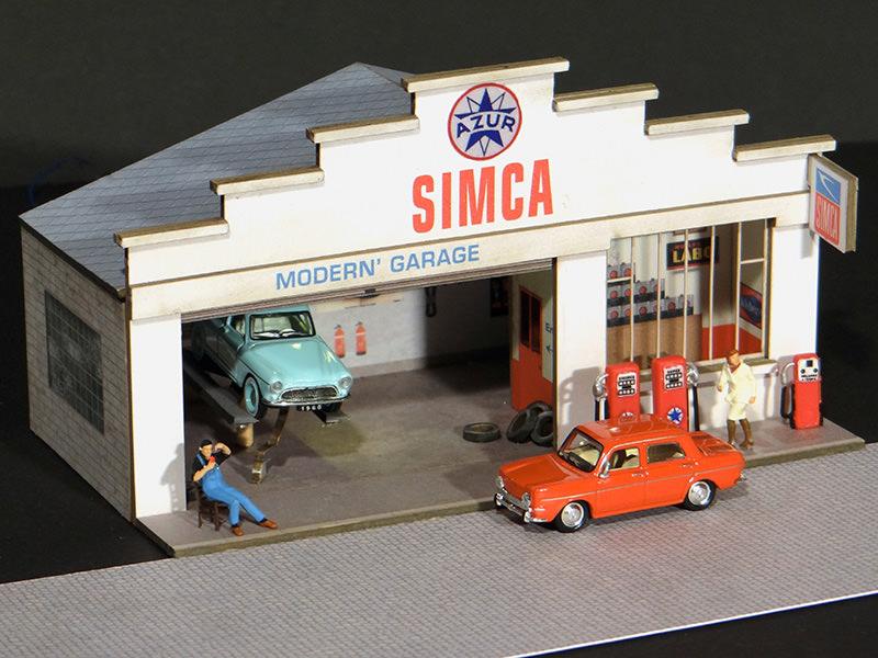 Façade Petit Garage Simca | Régions & Compagnies ...