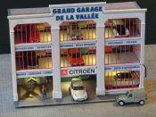 Fa ade petit garage peugeot r gions compagnies maquettes en carton imprim pr d coup au laser - Garage citroen grand quevilly ...