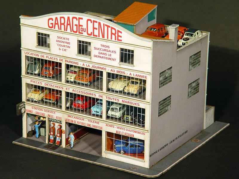 Immeuble Droit Garage Du Centre Régions Compagnies Maquettes